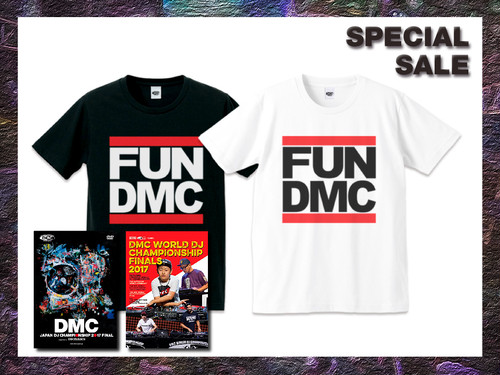 DMC JAPAN 2017 DVD + DMC WORLD 2017 DVD + FUN DMC TEE