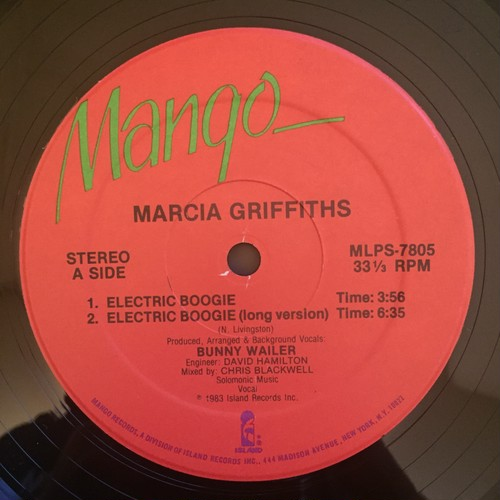 Marcia Griffiths – Electric Boogie