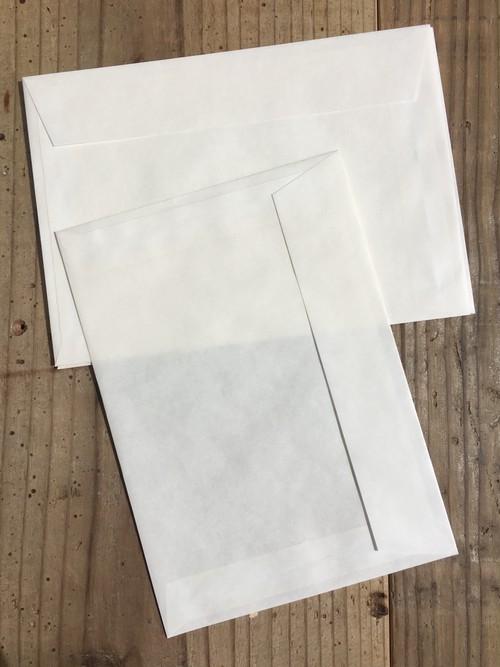 透ける定形封筒 20枚