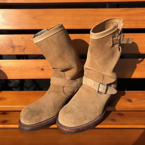 チペワ 黒タグ ラフアウト エンジニアブーツ Chippewa Roughout Engineer boots(7E)