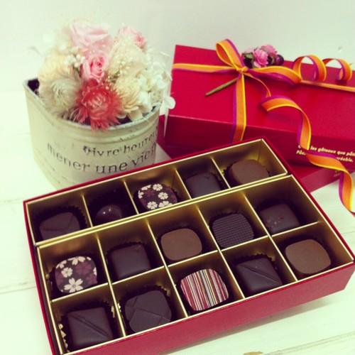チョコレート15個入り
