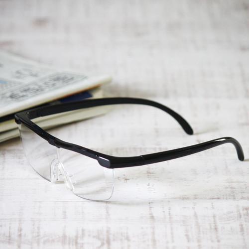 両手が使える「メガネ型ルーペ」拡大率1.6倍 【地域限定送料無料】(商品コード:AG07031)