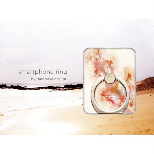 iPhone/Android対応 スマホリング