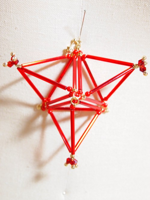 Three-dimensional Triangle(big) PIERCE[Red]
