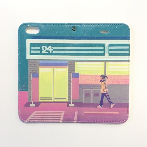 ナナカワ「27時に」iPhone6/6S/7用ケース ブックタイプ