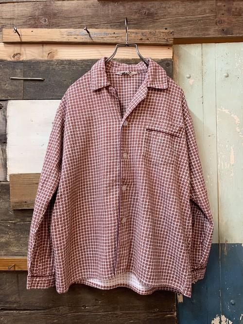 70's JC Penny  cotton pajamas shirt