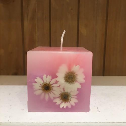 FLOWER CUBE CANDLE キャンドル