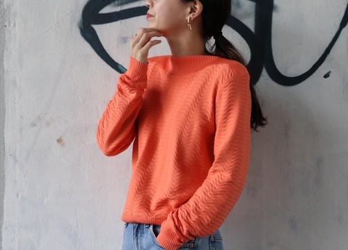 GIVENCHY SPORT orange knit