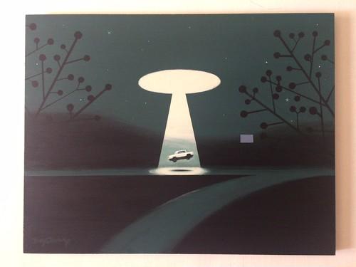 ' 8号線 (revisited) ' painting by 2YANG  ( 注・送料のみ着払い扱いで発送 )