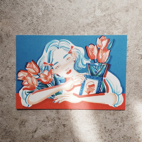 POST CARD 【Tulips】
