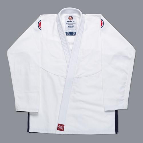 女性用 SCRAMBLE ATHLETE 4: 375 (ホワイト、白)|女性用ブラジリアン柔術衣
