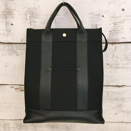 canvas backpack(black color)【naomi model】