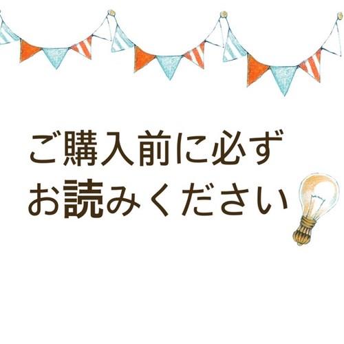 必ずお読みください!!