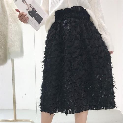 【2月中旬発送予定】天使スカート(Black)