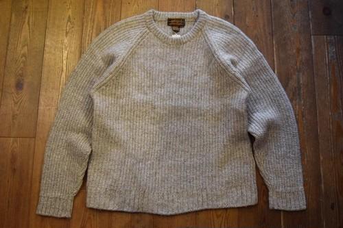 USED エディーバウアー  ウールセーター L  80s