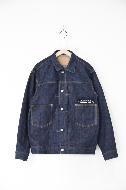 【ORDINARY FITS】OF-J013OW DENIM JACKET 1ST one wash
