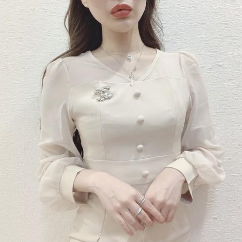 **elegance beige dress