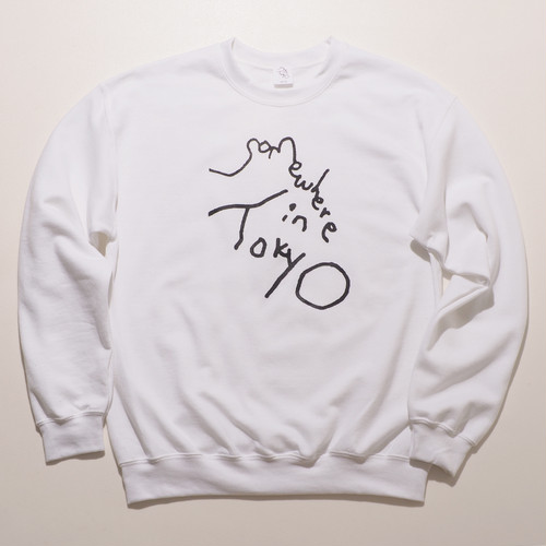 Sweat Shirt / Designed by Tomoo Gokita / White