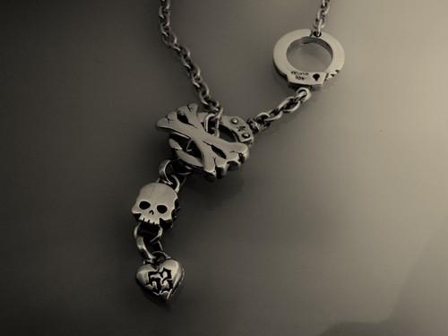 スカルのペンダント:DEAD LOCK