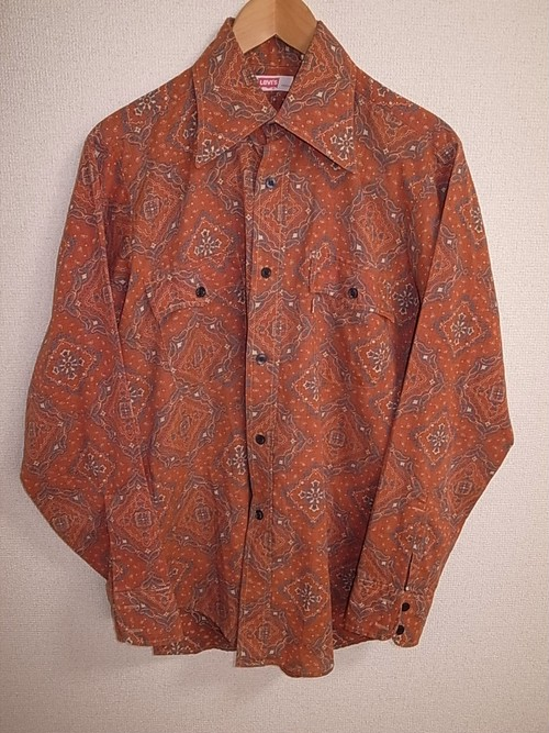 L/S Levi's 70'S SHIRTS (MADE IN U.S.A.)