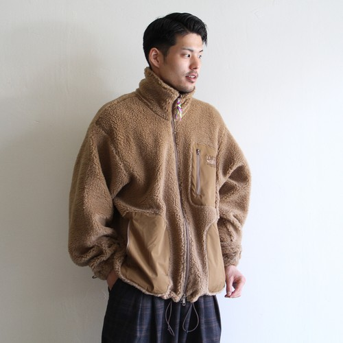 is-ness【 mens 】the holy mountain fleece jacket
