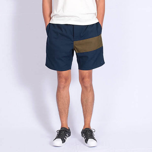 Short pants every day CENTER LINE TENT Navy/Kahki