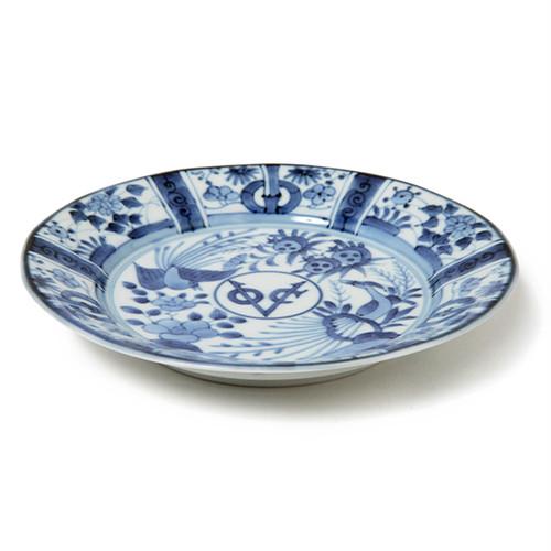 芙蓉手VOC段付6.5寸丸皿