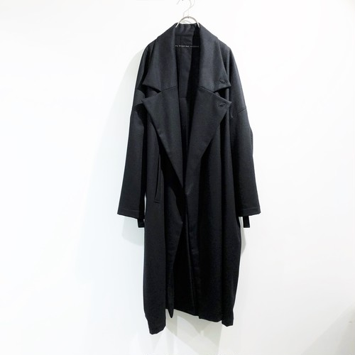 my beautiful landlet 【マイビューティフルランドレット】 FLANNEL WOOL LONG COAT