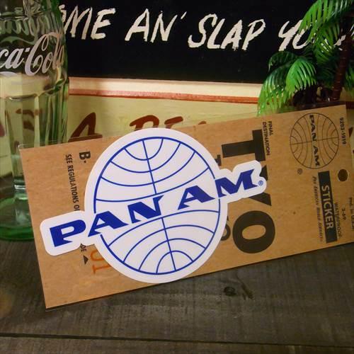 PANAM Sticker (PA-S7:ロゴサークル/WH)