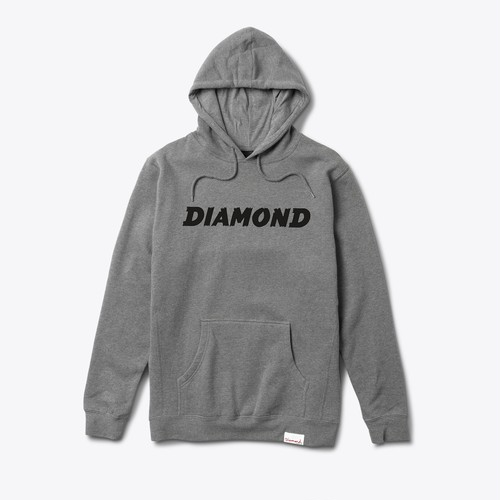 Diamond Supply Co. - Painted Hoodie
