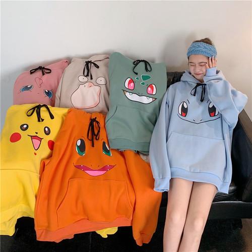 【❤トップス】動物柄ファッションフード付き合わせやすい長袖パーカー24944854