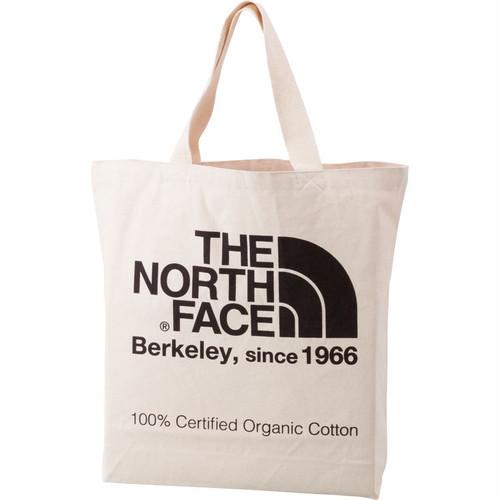 THE NORTH FACE (ザノースフェイス) TNFオーガニックコットントート (NK)ナチュラル×ブラック NM81908