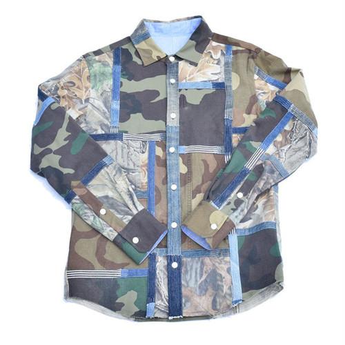 HAND MADE Military Shirts 002 M ハンドメイド ミリタリー シャツ