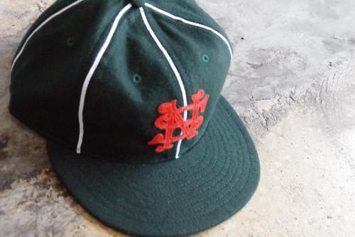 NOTHIN' SPECIAL×EBBETS FIELD PLAYER BASEBALL CAP