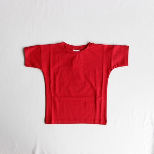 《WAWA 2019SS》Simple Tee / spicy red