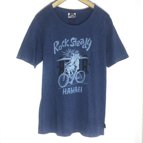 Kads MIIDA x gohemp x Aiki (藍氣) S/S T-Shirts / Rock Steady & ALOHA (Mサイズ)