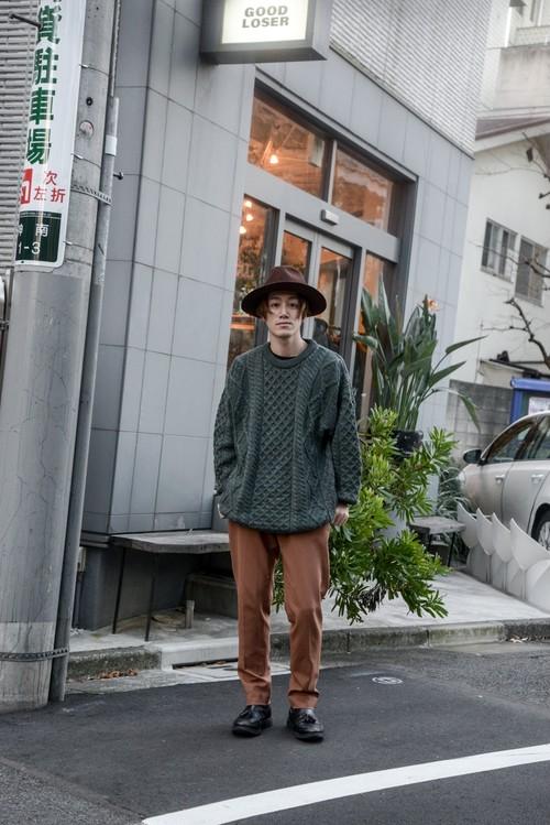 USED - Aran Knit Tops ¥9000+tax
