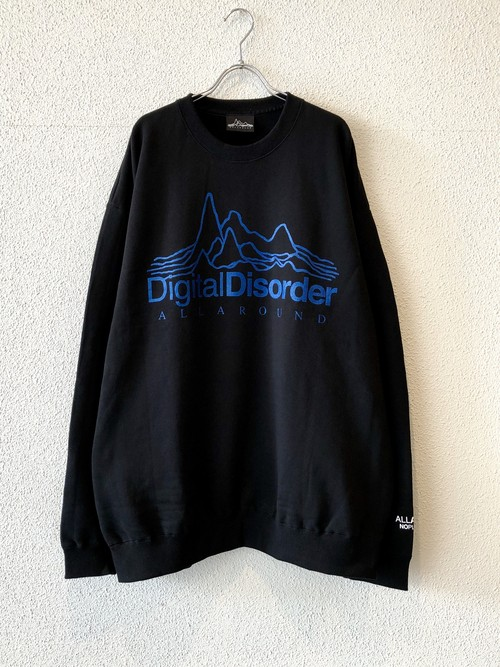 "【ゲリラ発売商品】CREW NECK BIG SWEAT ""DIGITAL DISORDER"""