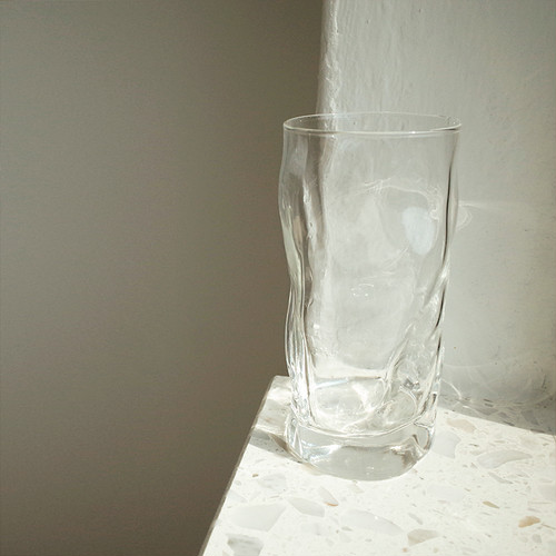 【made in italy】glass cup 455ml / イタリア製 ガラス コップ グラス 韓国 北欧 雑貨