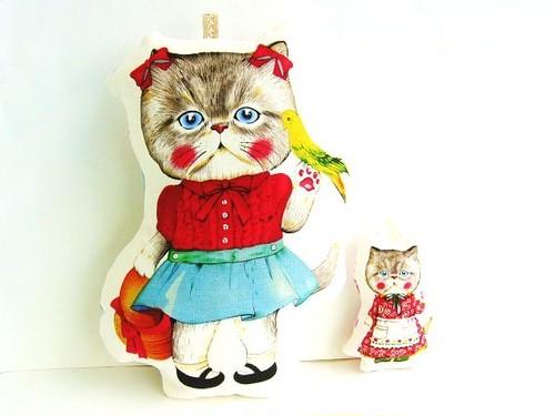 CAT pilow 大小2個セット