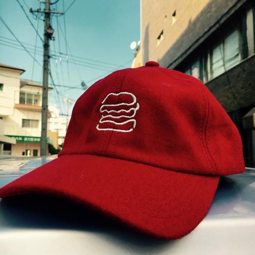 """NISHI YUDAI """"BURGER CAP""""ウール"""