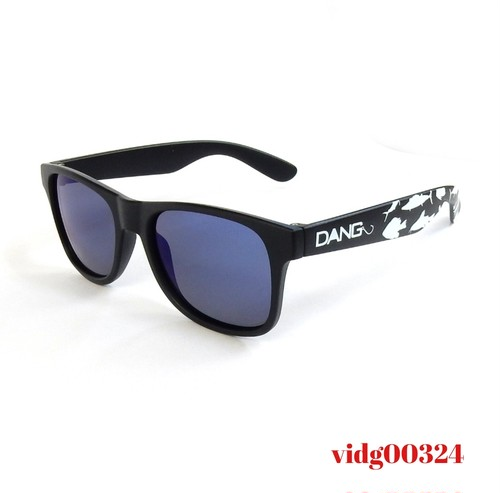 Dang Shades LOCO Black Matte X Blue Mirror Polarized with FISHING [中村貴之 Designed Model]
