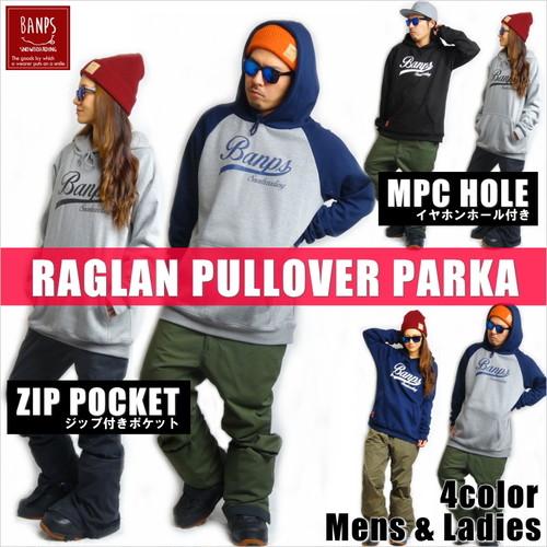 RAGLAN PULLOVER PARKA wave bp-33