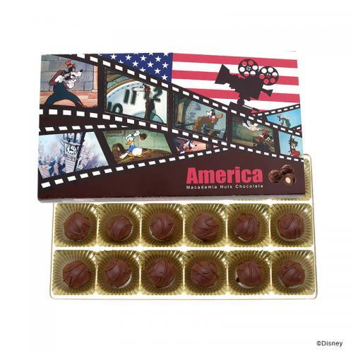 マカデミアナッツチョコレート アメリカ(ミッキー)