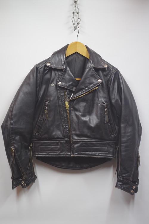 60's ヴィンテージ ラングリッツレザー ライダースジャケット Langlitz Leathers Riders Jacket(黒)