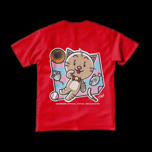 <レッドTシャツ 両面>レジャーみーちゃん