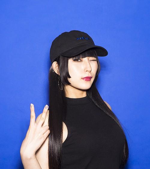 【DAOKO 2016 青色主義】DAOKO LOGO CAP BLACK