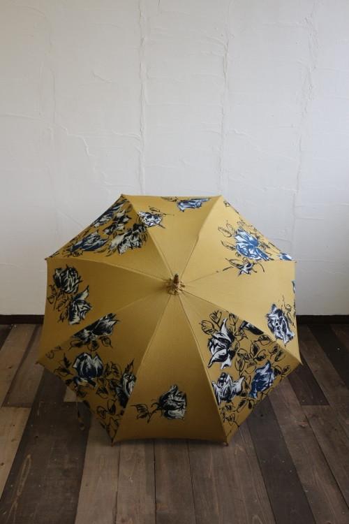 日傘 (カラシ✖薔薇)