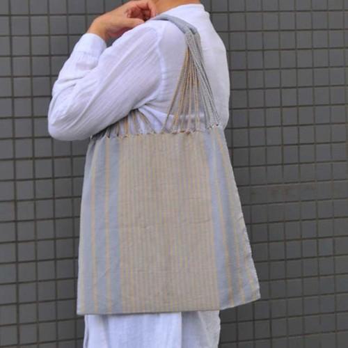 メキシコ織物バッグ(ストライプ柄)I