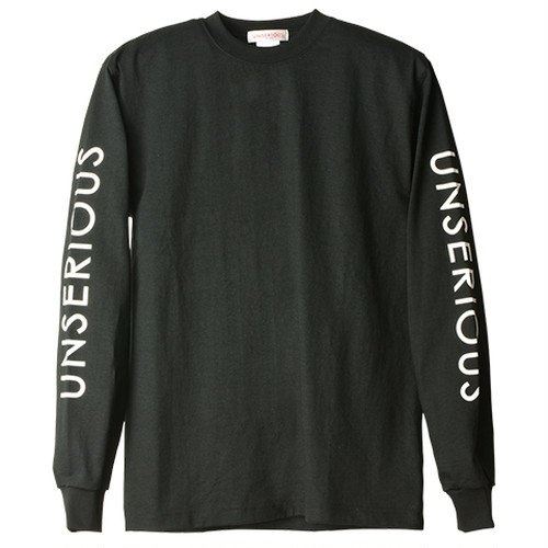 UNSERIOUS Made in USA Max Weight Long Sleeve T-Shirt